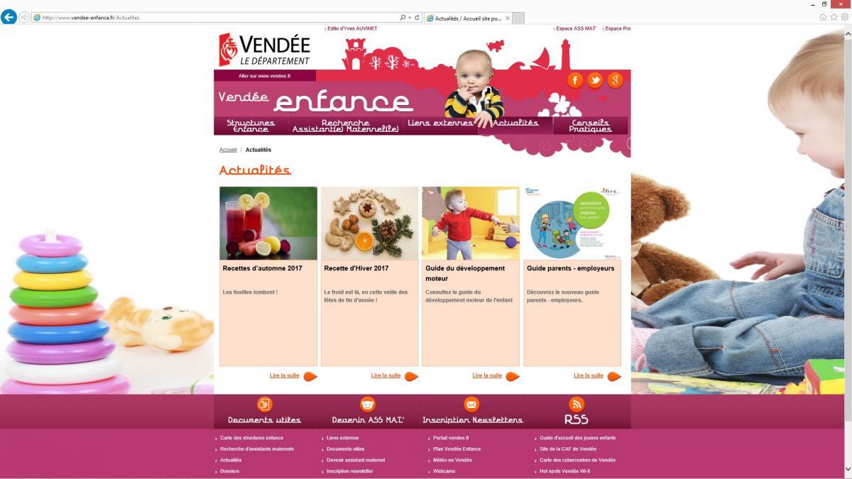 Vendée Enfance